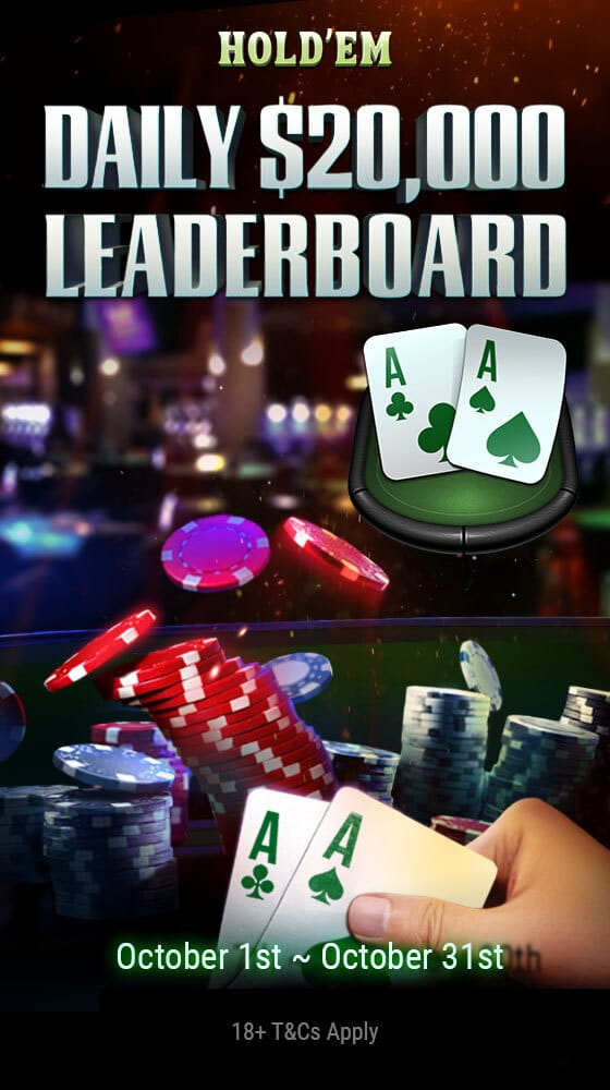 Hold'em Daily Leaderboard poster