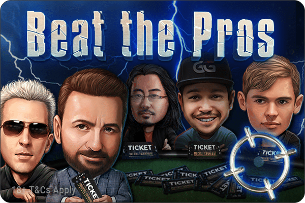 Beat The Pros mobile banner