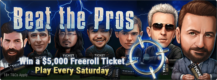 Beat The Pros home banner