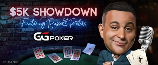 Russell Peters blog banner