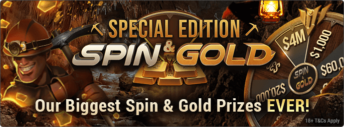 texas holdem online spin & gold