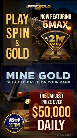 Spin & Gold Daily Leaderboard poster